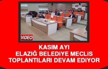 Elazığ Belediye Meclis Toplantıları Devam Ediyor