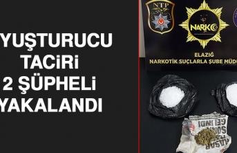 Elazığ'da 2 Şüpheli Uyuşturucu Madde İle Yakalandı