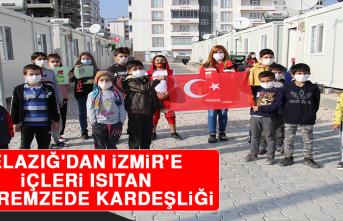 Elazığ'dan İzmir'e İçleri Isıtan Depremzede Kardeşliği