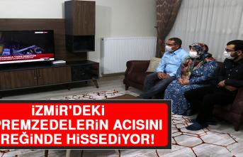 Elazığ Depreminin Simge İsmi Azize, İzmir'deki Depremzedelerin Acısını Yüreğinde Hissediyor