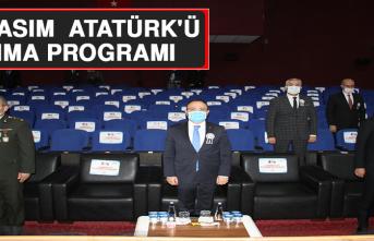 Elazığ'da 10 Kasım Atatürk'ü Anma Programı