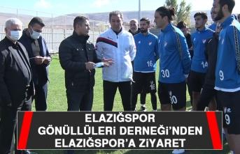 Elazığspor Gönüllüleri Derneği'nden Elazığspor'a Ziyaret