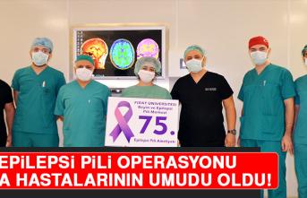 Epilepsi Pili Operasyonu Sara Hastalarının Umudu Oldu, 60 İlden Başvuru Geldi