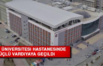Fırat Üniversitesi Hastanesinde Üçlü Vardiyaya Geçildi