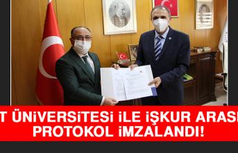 Fırat Üniversitesi İle İŞKUR Arasında Protokol İmzalandı!