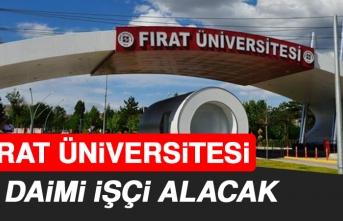 Fırat Üniversitesi, Personel Alımı Yapacak