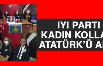 İYİ Parti Kadın Kolları Atatürk'ü Andı