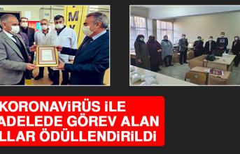 Koronavirüs İle Mücadelede Görev Alan Okullar Ödüllendirildi