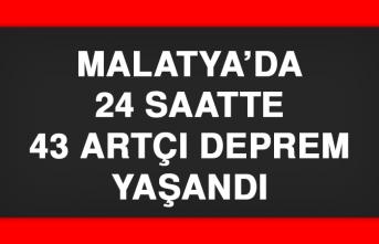 Malatya'da 24 Saatte 43 Artçı Deprem Yaşandı