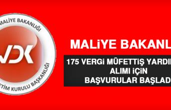 Maliye Bakanlığı 175 Vergi Müfettiş Yardımcısı Alımı İçin Başvurular Başladı