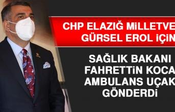 Milletvekili Gürsel Erol İçin Sağlık Bakanı Ambulans Uçak Gönderdi