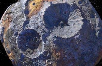 NASA, 10 Bin Katrilyon Dolarlık Göktaşında İlk Çalışmasını Yaptı