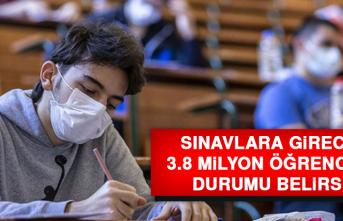 Sınavlara Girecek 3.8 Milyon Öğrencinin Durumu Belirsiz