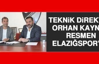 Teknik Direktör Orhan Kaynak Resmen Elazığspor'da