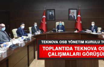 Teknova OSB Yönetim Kurulu Toplandı