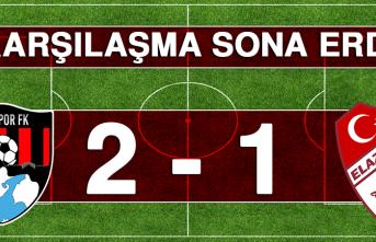 Vanspor Futbol Kulübü - Tetiş Yapı Elazığspor Karşılaşması Sona Erdi