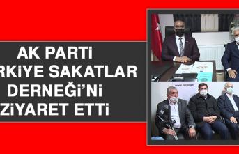 AK Parti'nden Türkiye Sakatlar Derneği'ne Ziyaret