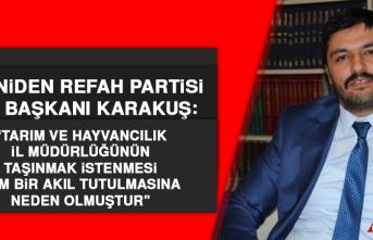 Başkan Karakuş'tan Tepki: Tam bir akıl tutulmasına neden olmuştur