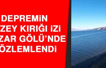 Depremin Yüzey Kırığı İzi Hazar Gölü'nde Gözlemlendi