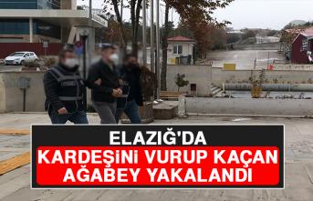 Elazığ'da Kardeşini Vurup Kaçan Ağabey Yakalandı
