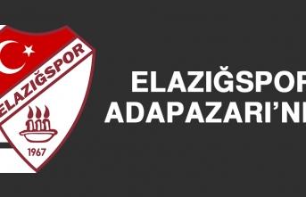 Elazığspor, Adapazarı'nda