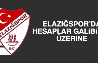 Elazığspor'da Hesaplar Galibiyet Üzerine