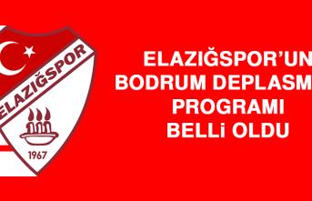 Elazığspor'un Bodrum Deplasman Programı Belli Oldu