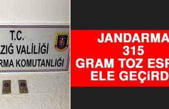Jandarma 315 Gram Toz Esrar Maddesi Ele Geçirdi!