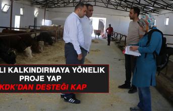 Kırsalı Kalkındırmaya Yönelik Proje Yap, TKDK'dan Desteği Kap