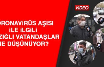 Koronavirüs Aşısı İle İlgili Elazığlı Vatandaşlar Ne Düşünüyor?