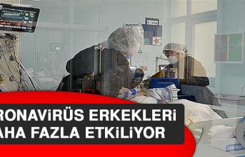 Koronavirüs Erkekleri Daha Fazla Etkiliyor