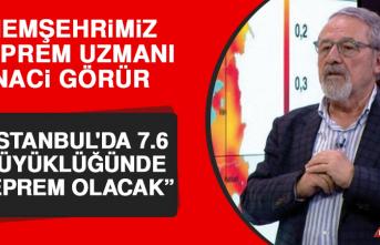 """Naci Görür Açıkladı: """"İstanbul'da 7.6 Büyüklüğünde Deprem Olacak"""""""