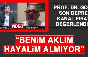 Prof. Dr. Görür Son Depremi Kanal Fırat'a Değerlendirdi