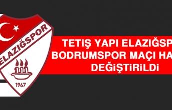 Tetiş Yapı Elazığspor - Bodrumspor Maçı Hakemi Değiştirildi