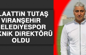 Tutaş, Viranşehir Belediyespor Teknik Direktörü Oldu