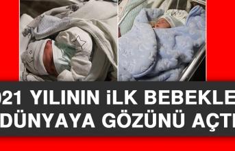 2021 Yılının İlk Bebekleri Dünyaya Gözünü Açtı