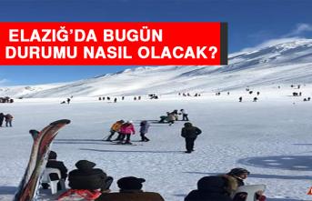 31 Ocak'ta Elazığ'da Hava Durumu Nasıl Olacak?