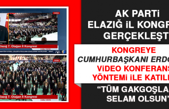 AK Parti Elazığ İl Kongresi Gerçekleşti