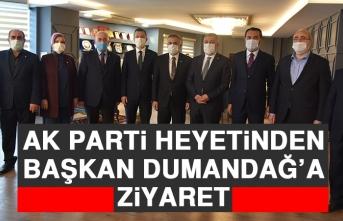 AK Parti Heyetinden Başkan Dumandağ'a Ziyaret