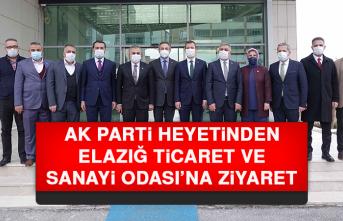 AK Parti Heyetinden Elazığ TSO'ya Ziyaret