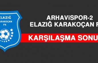 Arhavispor 2-0 Elazığ Karakoçan FK