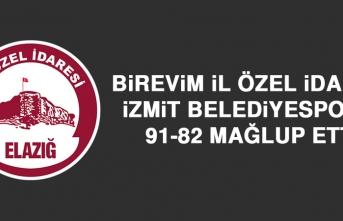 Birevim İl Özel İdaresi İzmit Belediyespor'u Mağlup Etti