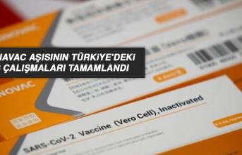 CoronaVac Aşısının Türkiye'deki Faz-3 Çalışmaları Tamamlandı