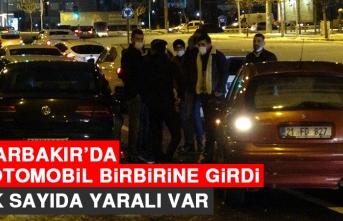 Diyarbakır'da 22 Otomobil Birbirine Girdi