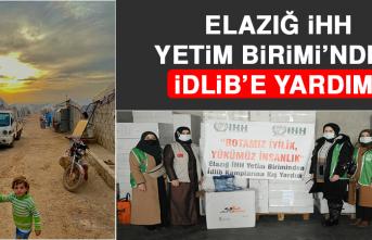 Elazığ İHH Yetim Birimi'nden İdlib'e Yardım
