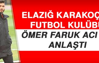 Elazığ Karakoçan Futbol Kulübü, Ömer Faruk Acı İle Anlaştı