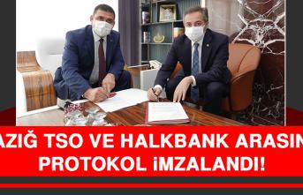 Elazığ TSO ve Halkbank Arasında Protokol İmzalandı