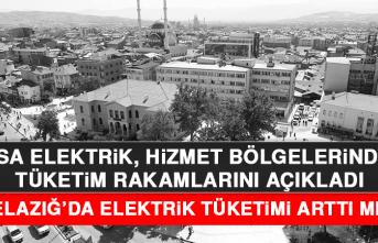 Elazığ'da elektrik tüketimi arttı mı?