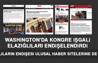 Elazığlıların Endişesi Ulusal Haber Sitelerine de Yansıdı
