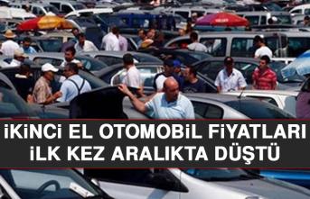 İkinci El Otomobil Fiyatları İlk Kez Aralıkta Düştü
